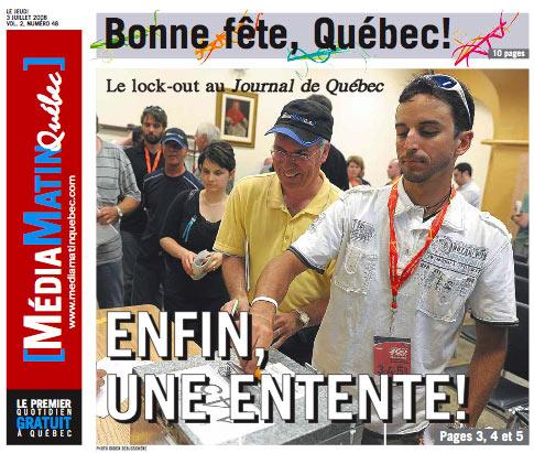 journaldequebec.com rencontre ultime entre deux orignaux Limoges