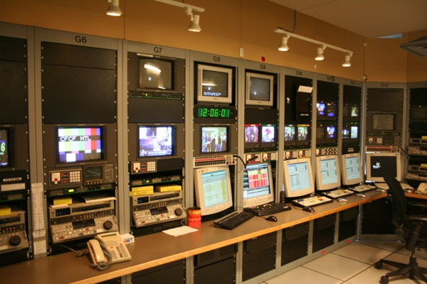 "The ""Feed and Play"" room at CTV Montreal is getting an upgrade as HD equipment is installed."