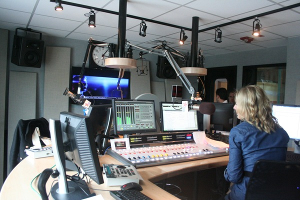 Virgin Radio studio