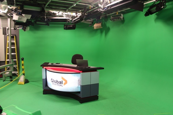 Global Montreal studio