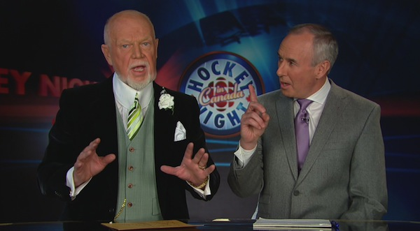 Don Cherry and Ron MacLean 10