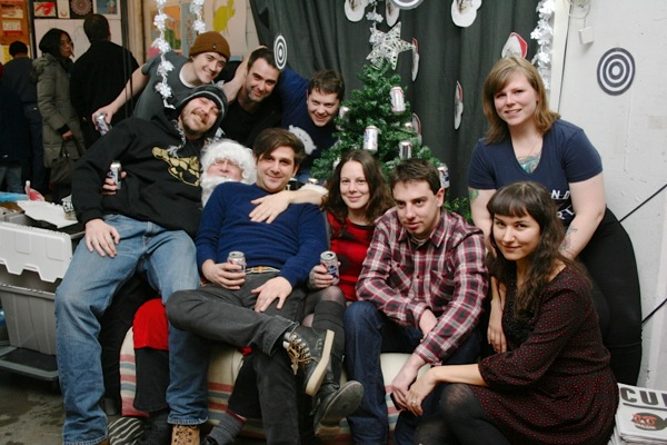 Cult MTL staff at their December 2012 issue launch.